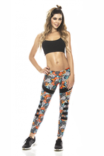 SURFBOARD & SEA SHELLS LEGGING