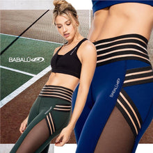 HIGH WAIST WITH TRANSPARENCY LEGGING