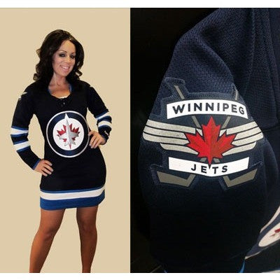 Winnipeg Jets Dress - Throwback to Last Year