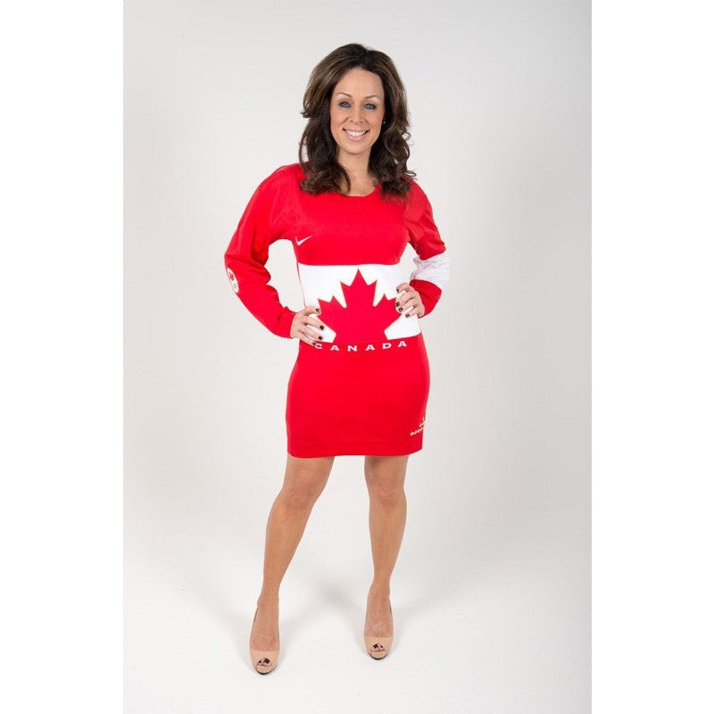 Red Team Canada Dress