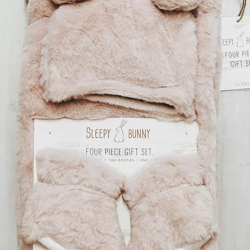 Sleepy Bunny Four Piece Gift Set