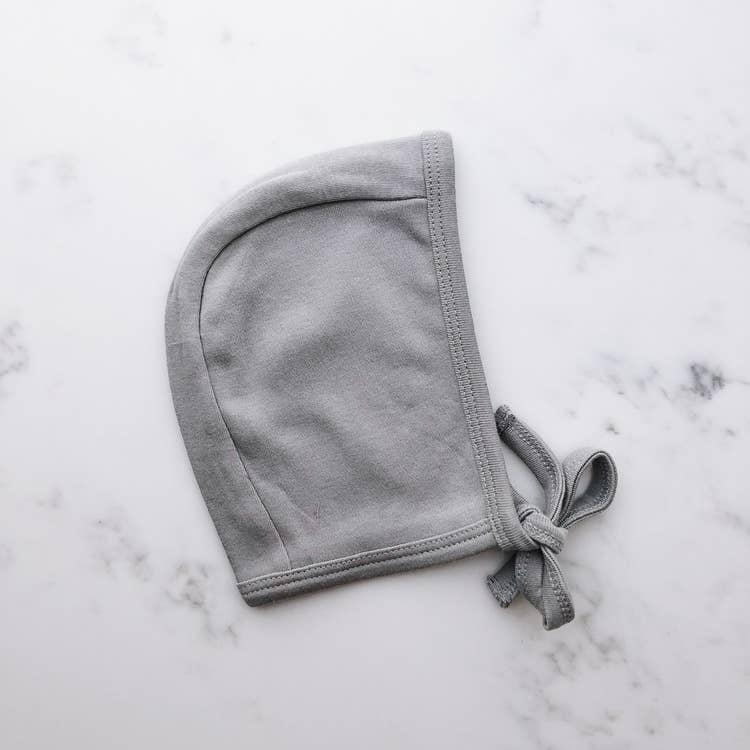 Organic Bonnet | Neutral Gray