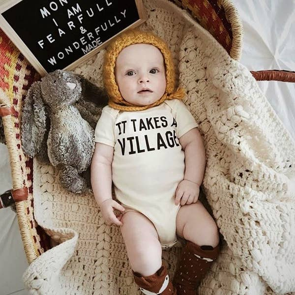 It Takes A Village - Baby One-piece