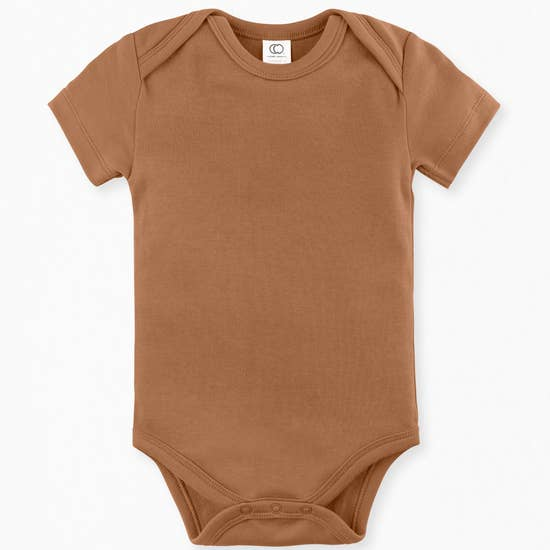 Short Sleeve Classic Bodysuit Ginger