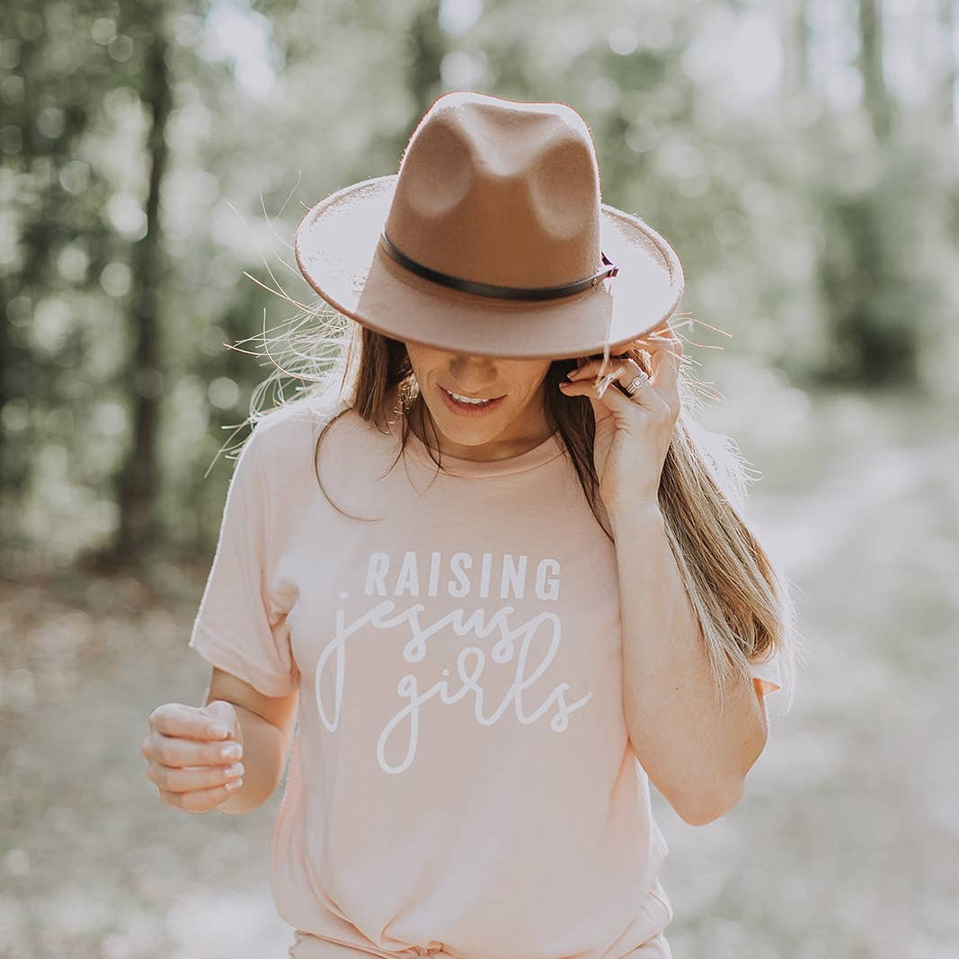 """Raising Jesus Girls"" Women's Tee"