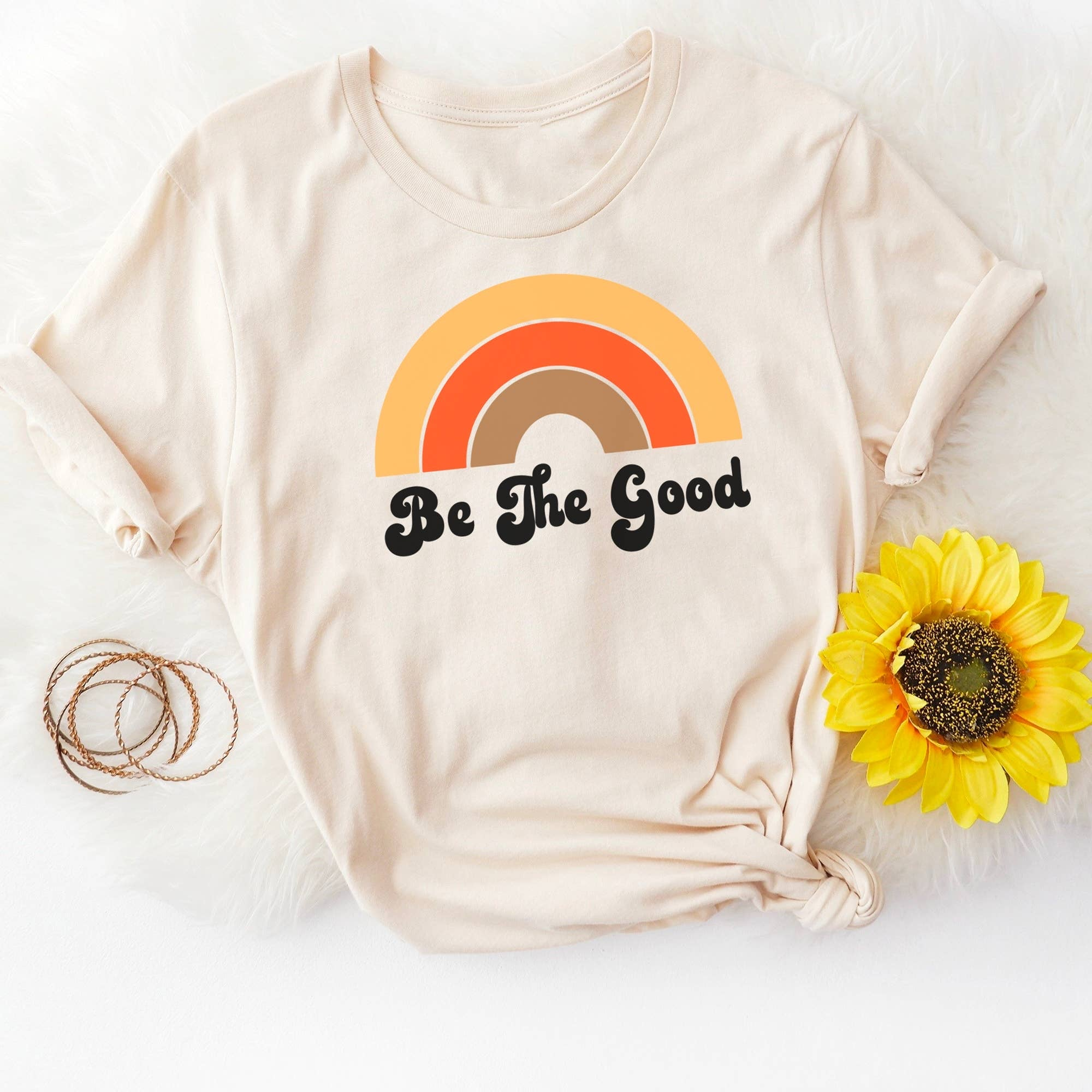 trendy baby clothes Be The Good Graphic Tee-The Trendy Bunny-Small-The Trendy Bunny