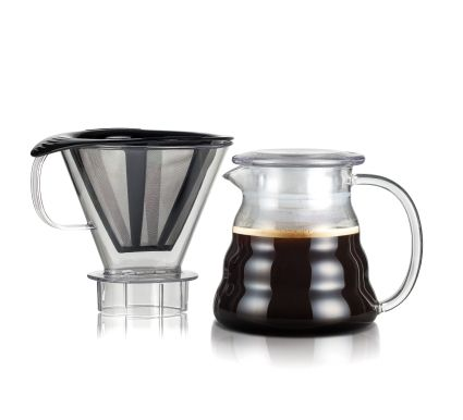 Bodum MELIOR® Coffee dripper with permanent s/s filter, 2.5 cup,  20 oz