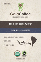 Blue Velvet - Organic Dark Roast
