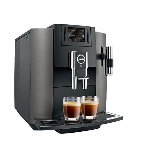 Jura E8 Piano Black - Free coffee & Cups