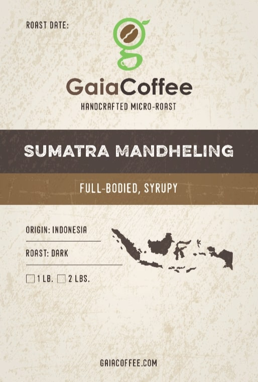 Sumatra Mandheling - Single Origin