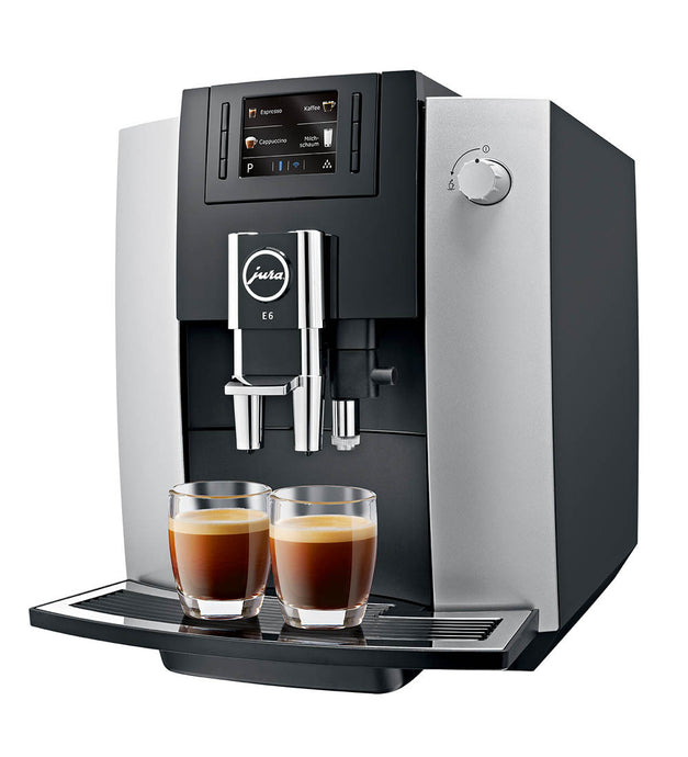 Jura E6 - Free coffee & Cups