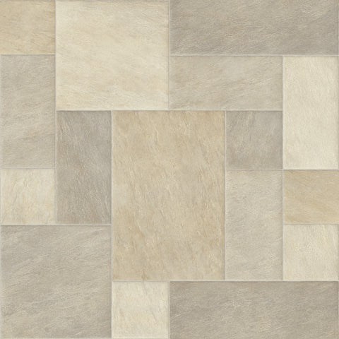 DA VINCI CREAM B0038 - Sheet Vinyl - CANVAS(Instock)