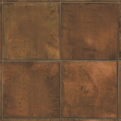 Spanish Saltillo Vinyl Sheet - Redware
