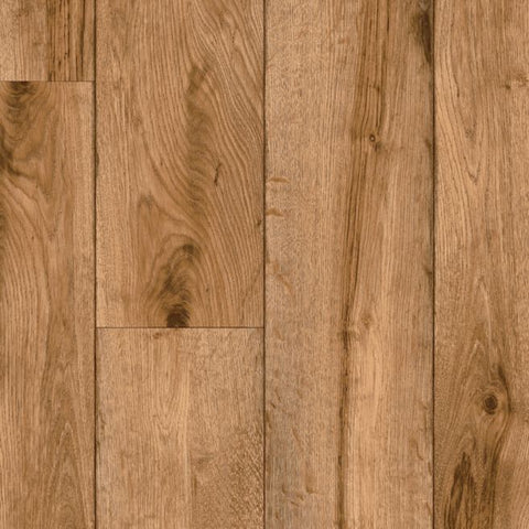 Rustic Timbers Vinyl Sheet - Natural