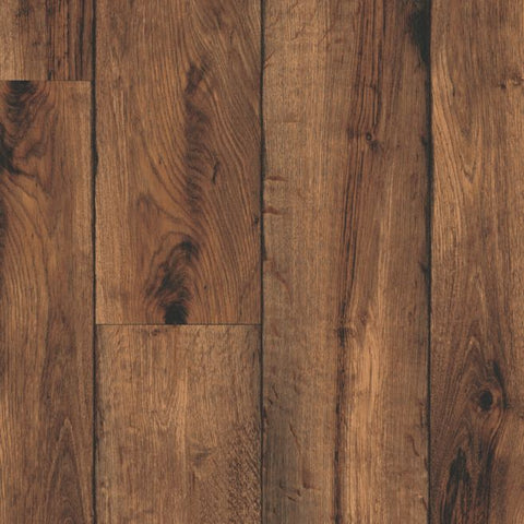 Rustic Timbers Vinyl Sheet - Brown