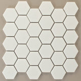 Hexagon White Matte 12 x 12