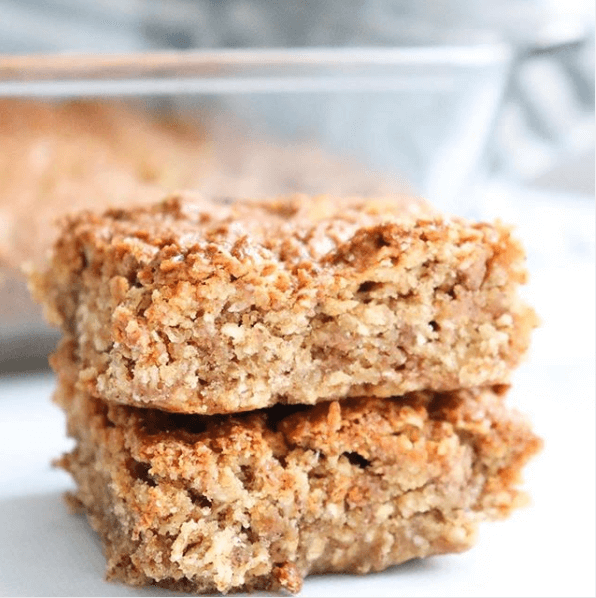 Maple Sugar Oat Bars
