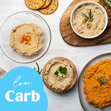 Cauliflower Hummus, Variety Pack of All Our 3 Flavors