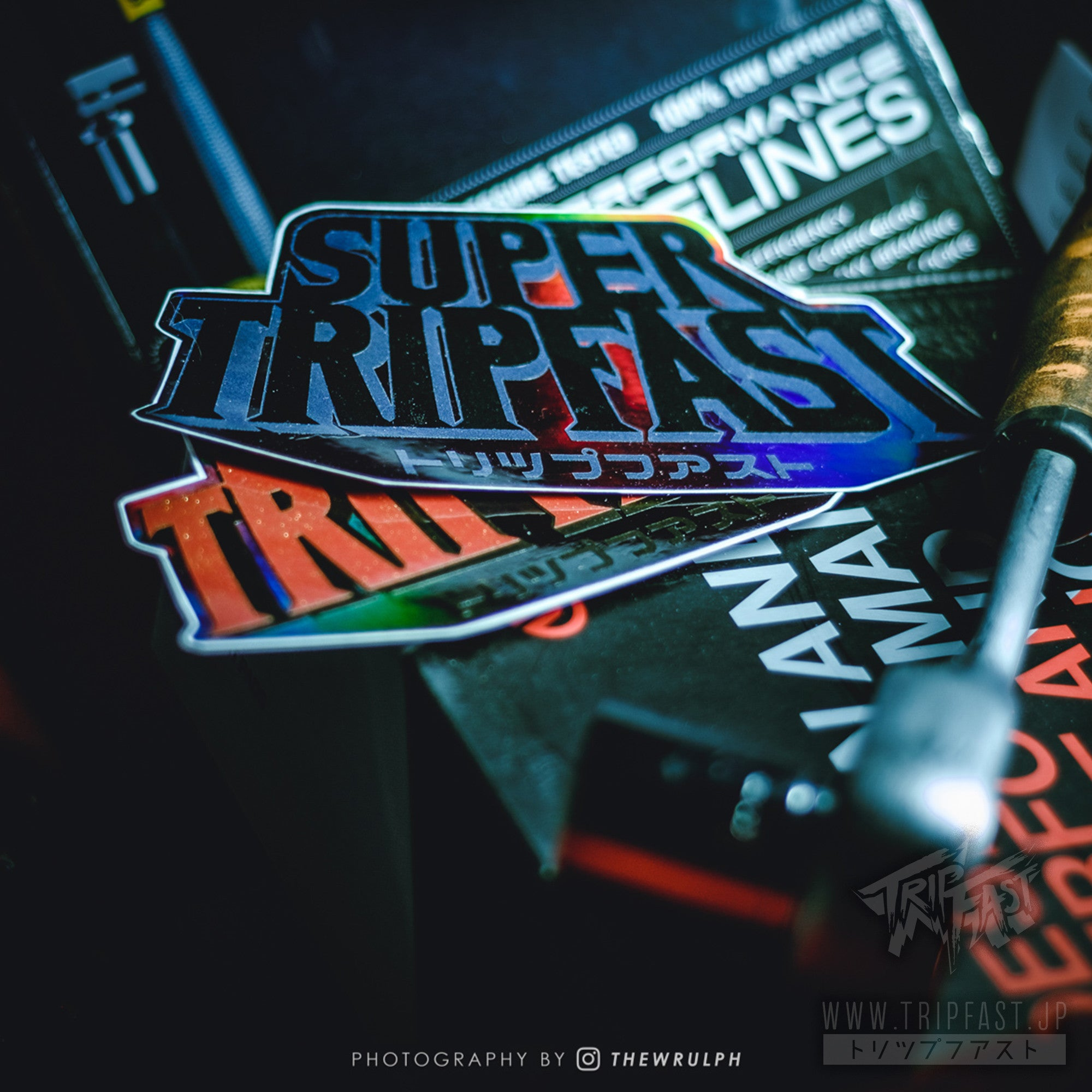 SUPER TRIPFAST Premium Three Layer Sticker***