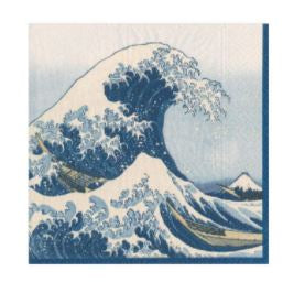 Great Wave Cocktail Napkin