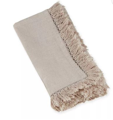 Fringed Cloth Napkins