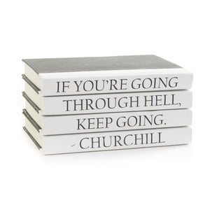 """Keep Going"" 4 Stack Quotation Series Books"