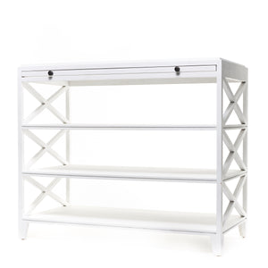 Pacifica Side Table White