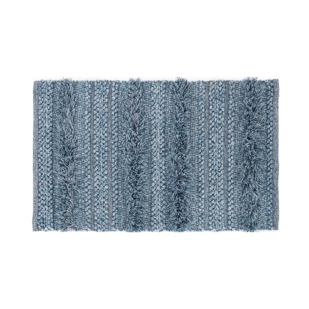Zhara Denim Striped Rug