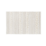 Zhara Ivory Striped Rug