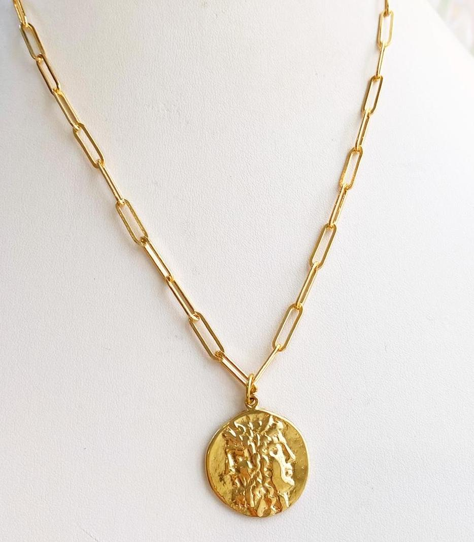 Chateau Coin Necklace
