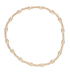 Harmony Sincerity Gold Bracelet