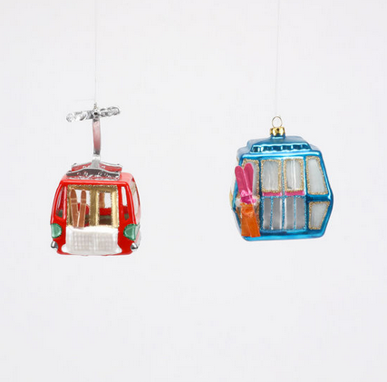 Glass Gondola Ornament