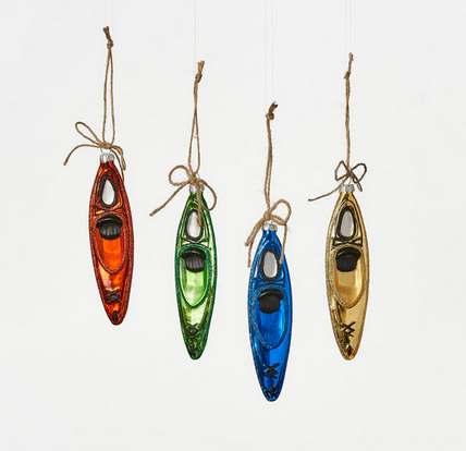 Kayak Ornaments