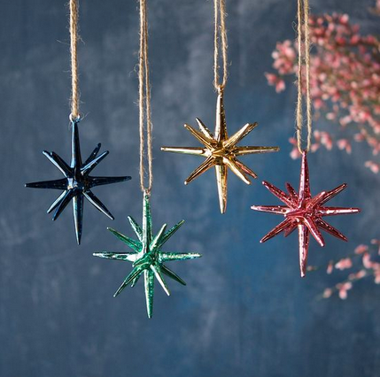 Starburst Sparkle Ornament
