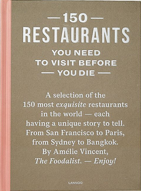 150 Restaurants to Visit