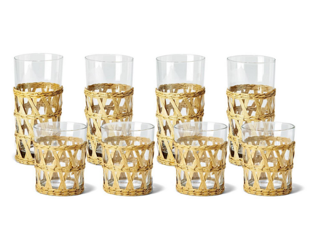 Lattice Drinking Glasses