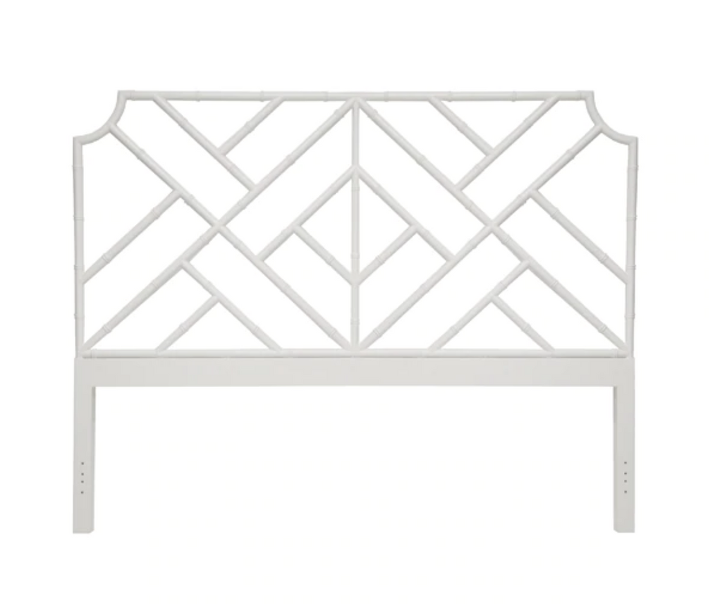 Malaga King Headboard White