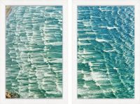 Rolling Waves 2 Diptych