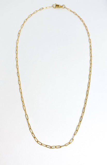 Venetian Gold Link Necklace