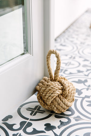 Rope Knot Door Stop