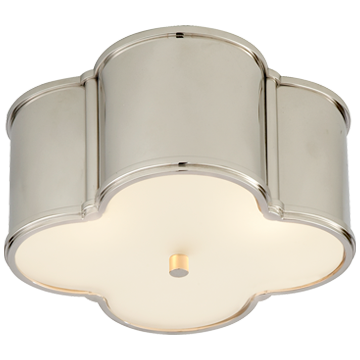 Sonoma Polished Nickel Flush Mount