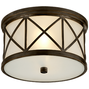 Harbor Bronze Flush Mount