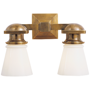 Wedge Double Sconce