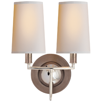 Imperial Double Sconce