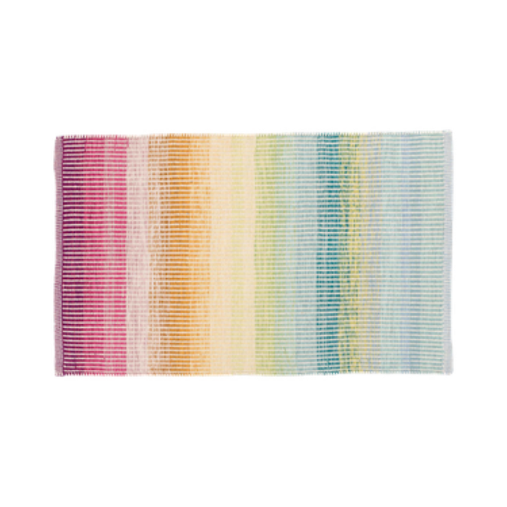 Watercolor Horizon Cotton Rug