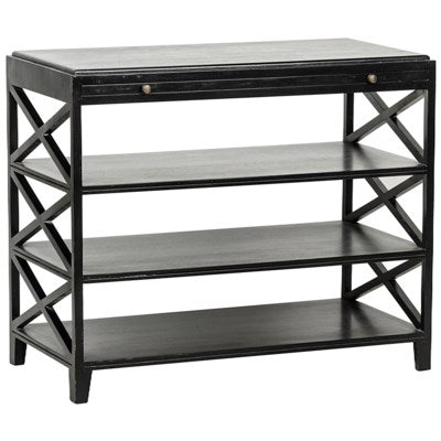 Pacifica Side Table Black