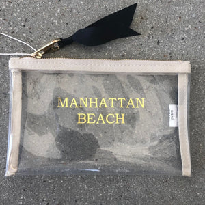 Manhattan Beach Clear Pouch