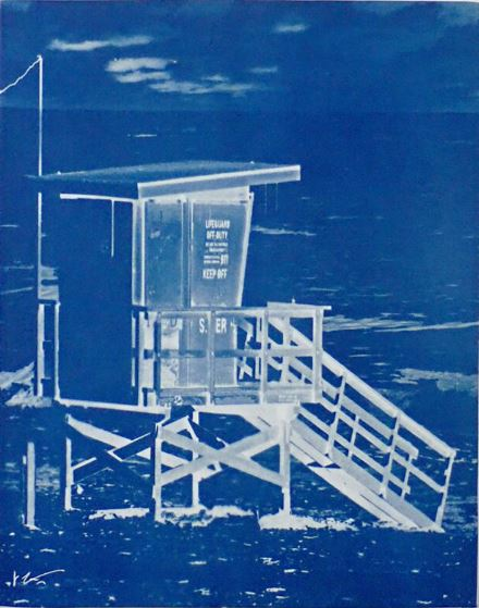 South Pier Lifeguard Tower M.B.
