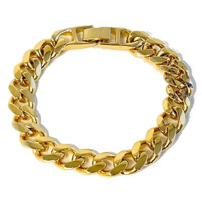 Heavy Chain Gold Bracelet