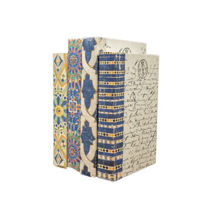 Patterned Decorative Books